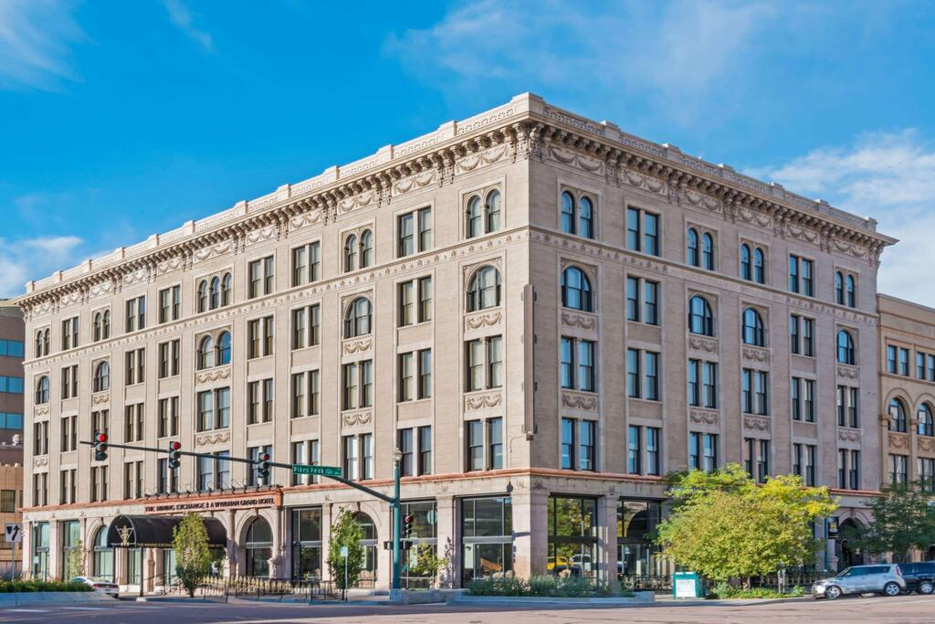 The Review of Wyndham Grand Mining Exchange Hotel In Colorado Springs